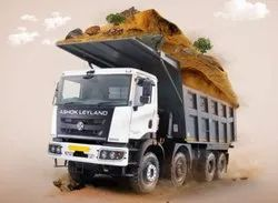 Tipper Ashok Leyland Truck, GVW ( Gross Vehicle Weight): Above 15 Tons, 250 Hp