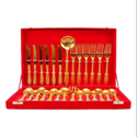 Brass Spoon Cutlery Set