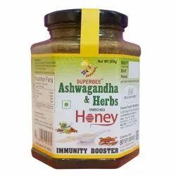 Ashwagandha & Herbs Enriched Honey,500g