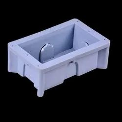 Jsk Rectangular 4 Module PVC Concealed Boxes, For Electric Fittings