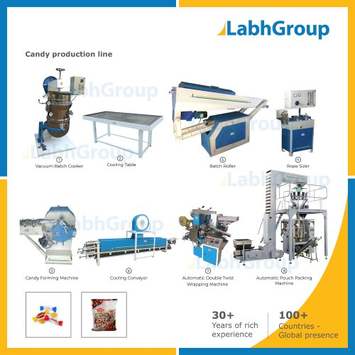Candy Making Machine Production Plant