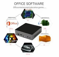 Fanless PC Mini Box PC I7