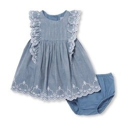 Baby Cotton Frock, Size: 28