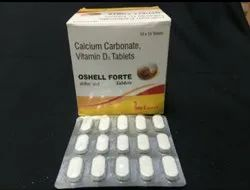 Calcium Carbonate, Vitamind D3 Tablets.