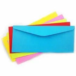 Color Paper Envelope, For Office, Rectangular