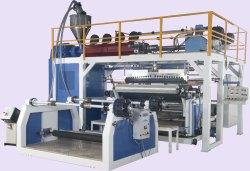 Tarpaulin Coating Extrusion Machine