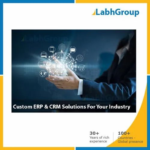 Digital Transformation ERP CRM Solution For Chemical Industry