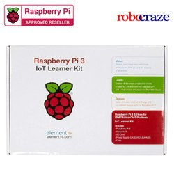 Raspberry Pi 3 B IOT Complete Learner Kit-PI 3 B Premium IOT Kit