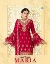 Your Choice Maria Georgette Party Wear Fancy Suits Catalog