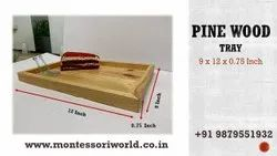 Serving Tray Pine Wood