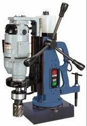 KBRC 42 Magnetic Drill Stand With Driling / Broaching Machine KBRC42