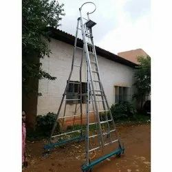40 Ft Aluminum Self Supporting Extension Ladder