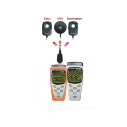 Solar Radiation Meter With Data Logger-Portable