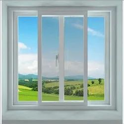 White Modern Upvc French doors openable with handle locking, Size/Dimension: 5x4.5 Feet