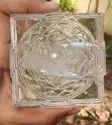Natural Crystal Shree Yantra - 860 gram
