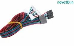 Ribbon Wire Connector 6 Pin JST Improved And Nema 17 Wire Connectors - Dupont/JST, 0.5/1m