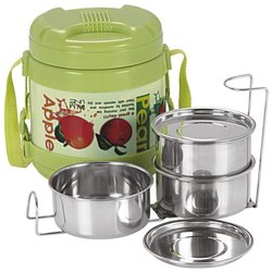 Palmline Volcano Insulated Lunch Packs, For Home, 3 Container