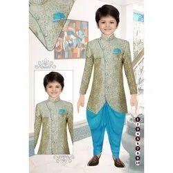 Kids Party Wear Indo Western Suit
