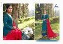 Alisa Fashion Mahera Silk Jacquard Long Designer Salwar Suit Catalog