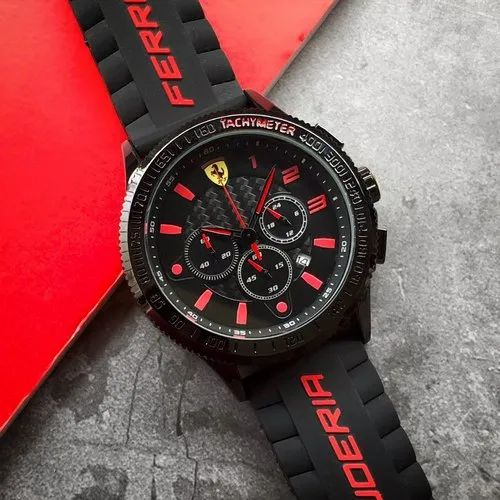 Men Round Ferrari Watch For Personal Use Rs 2999 Piece Shiv Enterprise Id 22781848348