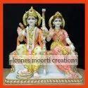 Marble Ram Seeta Statue