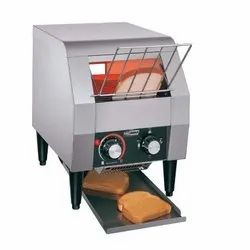 Stainless Steel Commercial Conveyor Bread Toaster, 150 Slices/Hour (TT-150)