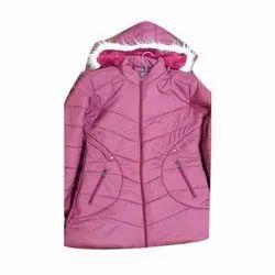 Full Sleeve Pink Ladies Jacket