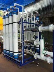 Membrane Based UF-RO Plants
