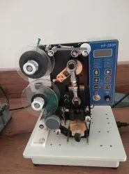 Semi Auto Ribbon Codding Machine