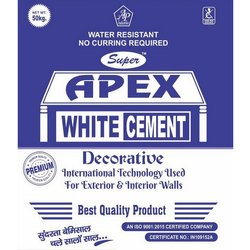 50kg Apex Decorative White Cement