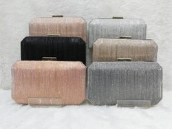 Metal Crystal Clutch Bags