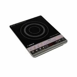 On Off induction cooktop black glass 1800 WATT, For Kitchen