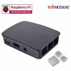 Raspberry Pi Official Black & Grey Case Heatsink - Robocraze