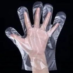 MD SAFETY Disposable Plastic Hand Gloves
