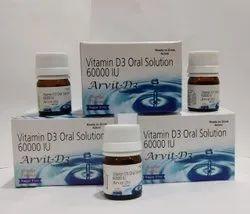 Vitamin D3 Oral Solution 60000iu Sugar Free