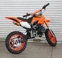 Orange 50cc Super Kids Dirt Bike