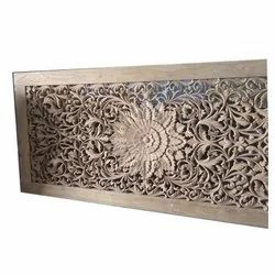 Wooden Modern Carving Window, Size/Dimension: 4x2 Feet