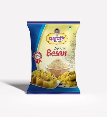 Besan Packing Roll And Pouch
