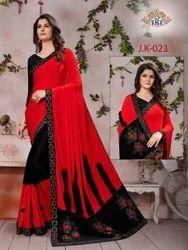 Alluring designer Sarees, 5.5 m (separate blouse piece)