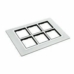 12 Module  Modular Switch Plate