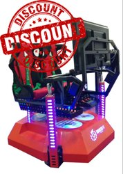 9D Car Driving Arcade Game Machine