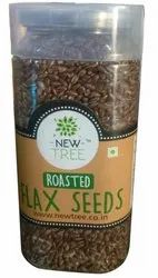 Natural New Tree Roasted Flax Seeds, Packaging Type: PLASTIC JAR, Packaging Size: 150 Gram