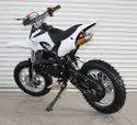 White 50cc Super Kids Dirt Bike