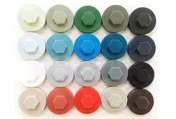 Plastic Hexagonal Sds Screw Cap, For Roofing, Size: 8mm