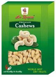 Raw White La Rosera Cashew Nuts 250 G, Grade: W240