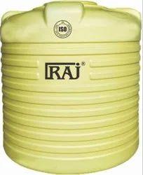 RAJ Water Tank 5 Layer, Capacity: 1000-5000 L