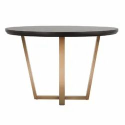 Designer Round Center Table, For Home, Size: 1350x1350x762 Mm