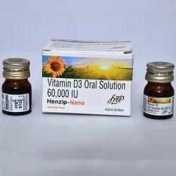 Vitamin D3 Oral Solution 60000 IU