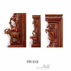 60 Inches Composite Wooden Pillar
