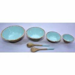 CII-801 Wooden Bowl Set
